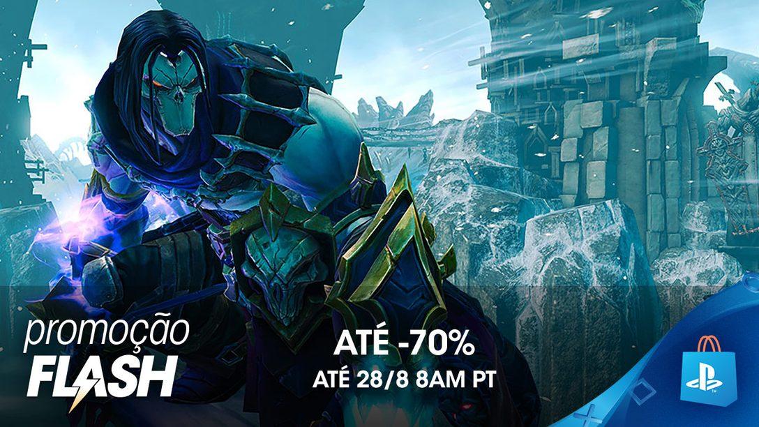 Promoção Flash de Agosto: Descontos de Até 70% na PS Store