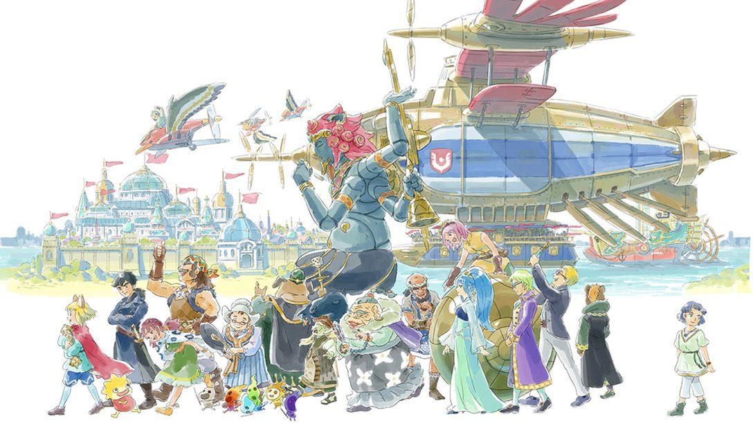 Uma apresentação do Elenco de Ni no Kuni II
