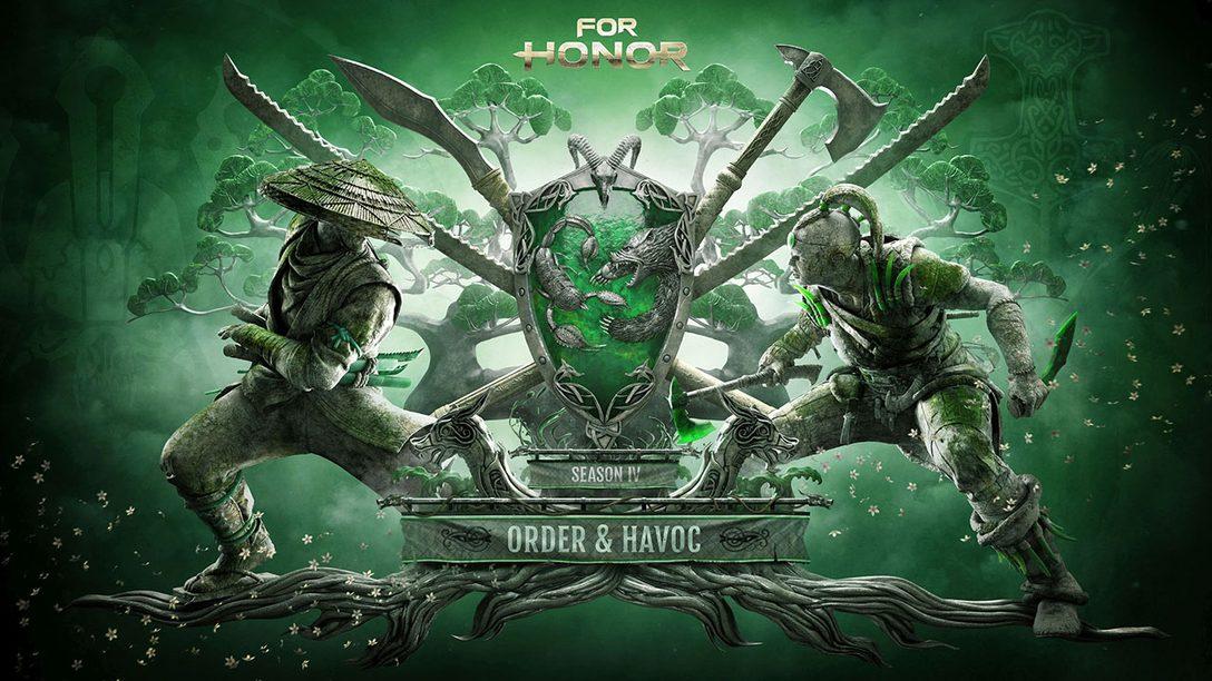 Jogue For Honor Gratuitamente em 9-12 de Nov., Temporada 4 começa 14 de Novembro