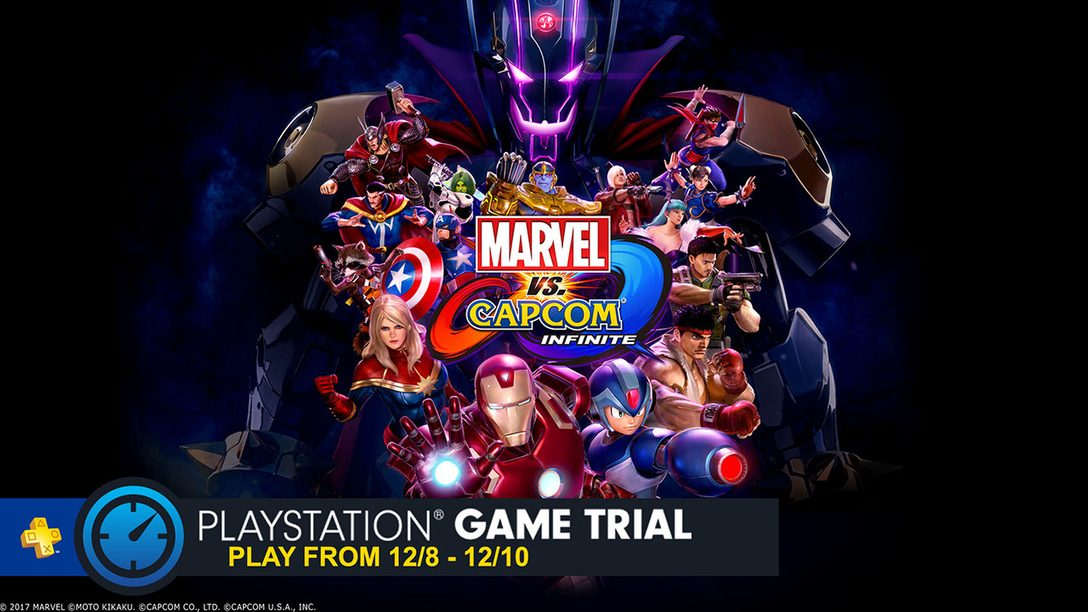 Marvel vs. Capcom Infinite: Demo de Modo Versus Gratuito Nesse Fim de Semana