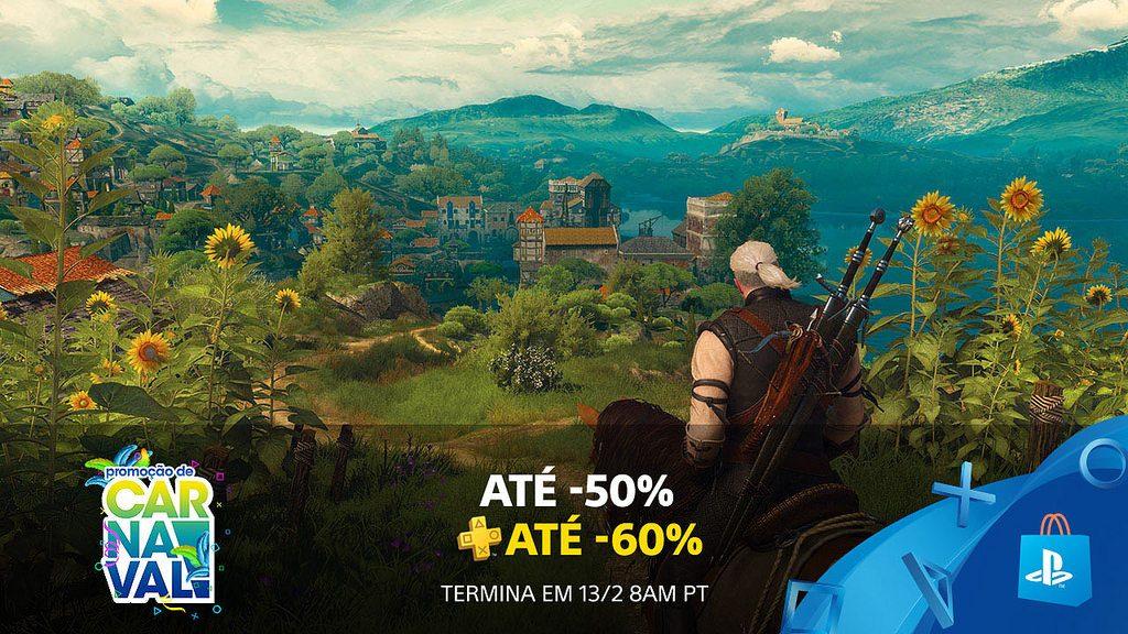 Promoção de Carnaval: Economize até 50% e 60% com PS Plus