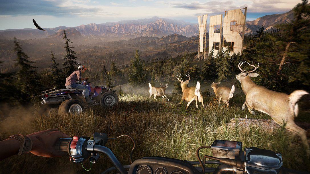 A Geração Processual do Mundo de Far Cry 5