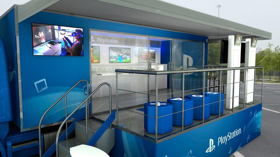 Anunciando o PlayStation na Estrada