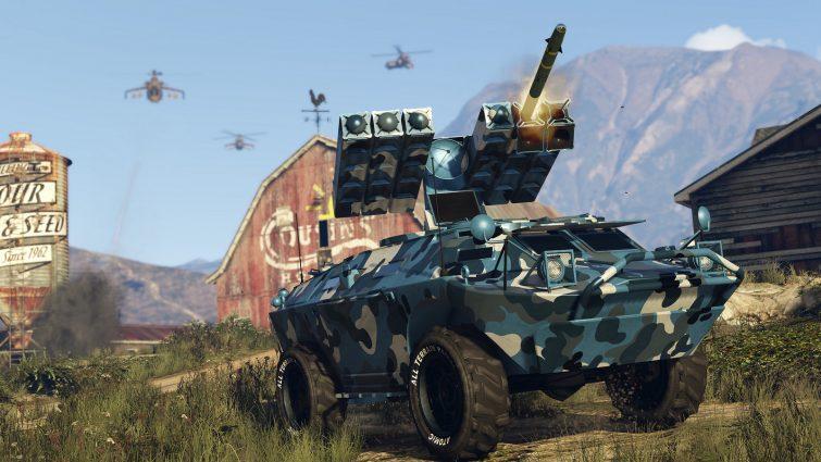 A Mais Nova Atualização de GTA Online, Gunrunner, Chega de Forma Explosiva em 13 de Junho