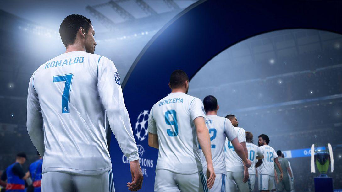 Surgem os Campeões em FIFA 19, Chegando para PS4 em 28 de Setembro
