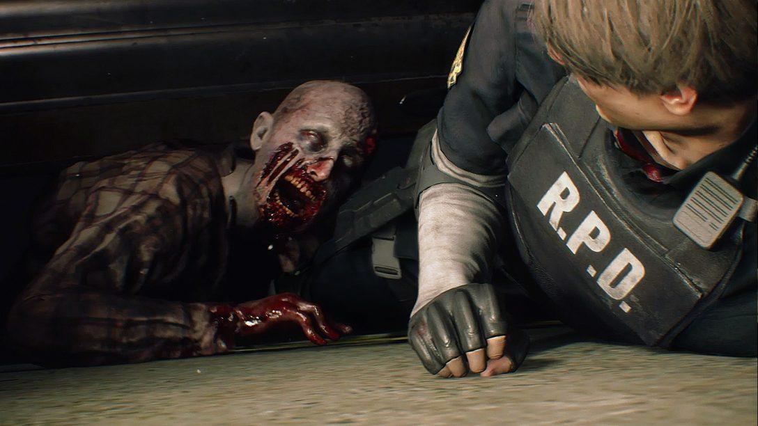 Resident Evil 2: Novos Detalhes Direto da Comic-Con