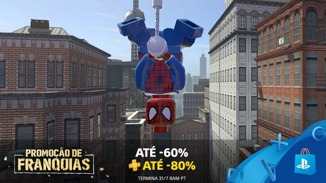Promoção De Franquias da PS Store: Até 60% de Desconto (80% para PS Plus)