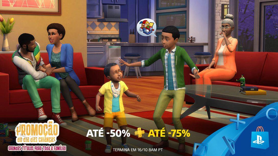 A Promoção do Dia Das Crianças da PS Store traz Descontos de Até 50% para o Brasil e América Latina