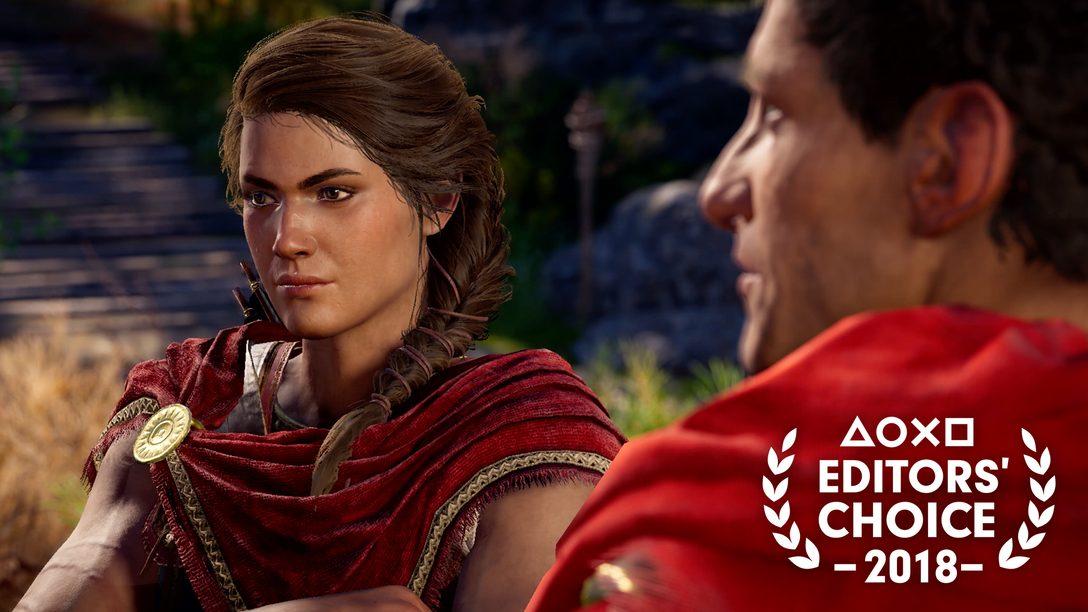 Escolha do Editor: Por que Assassin's Creed Odyssey é um dos Melhores Jogos de 2018
