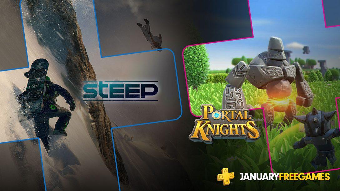 PlayStation Plus: Jogos Gratuitos de Janeiro de 2019