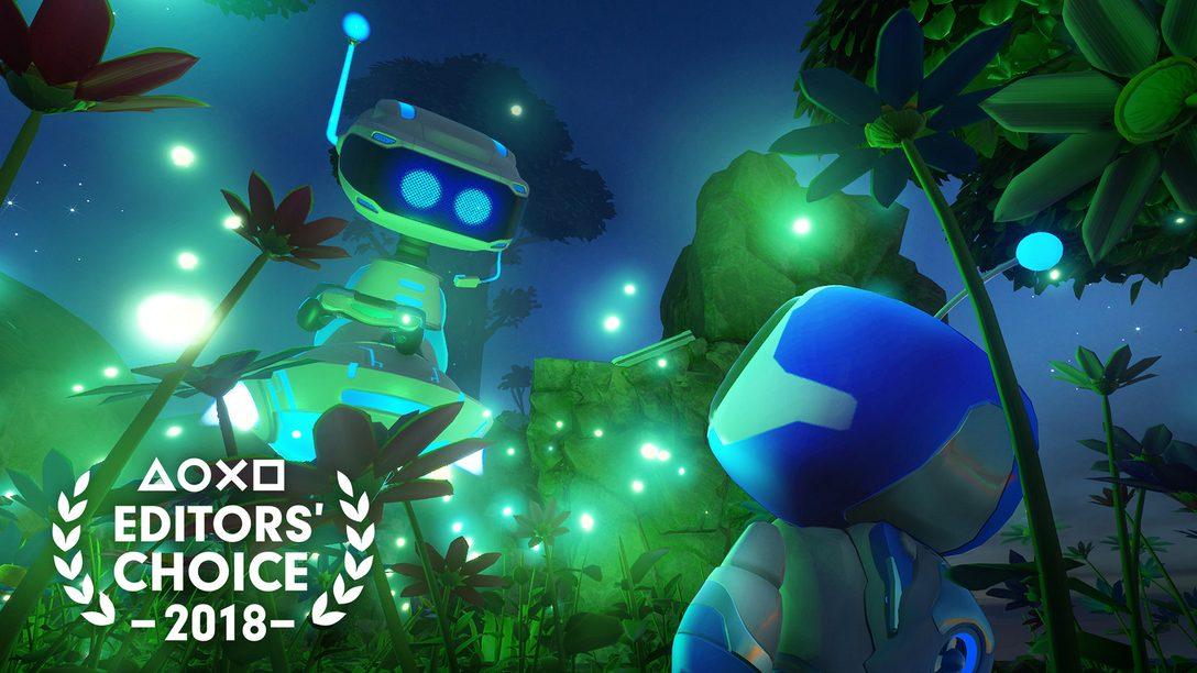 Escolha do Editor: Por que Astro Bot Rescue Mission é um dos Melhores Jogos de 2018
