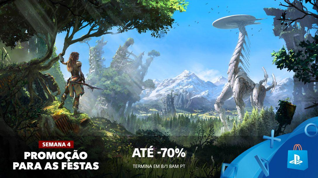 Promoção para as Festas! Até 70% de Desconto em Centenas de Jogos da PS Store