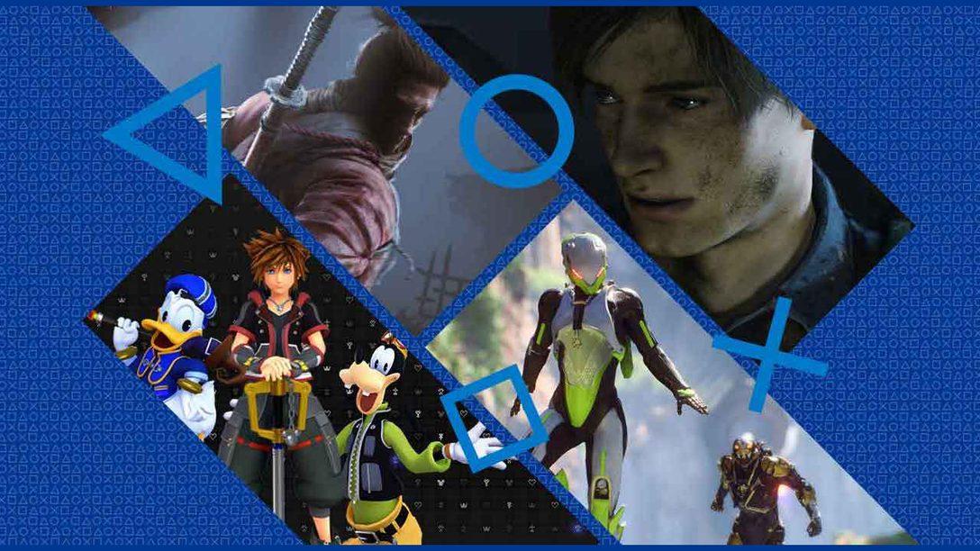 Desenvolvedores PlayStation Escolhem os Jogos PS4 Mais Esperados de 2019 e Além