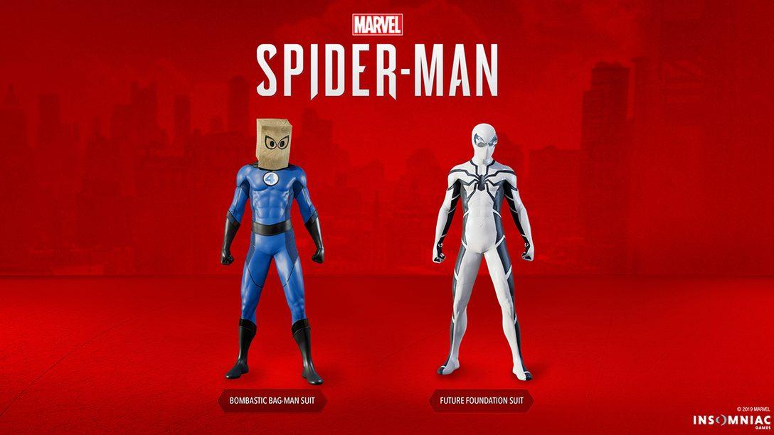 Marvel's Spider-Man Recebe Dois Novos Trajes Hoje