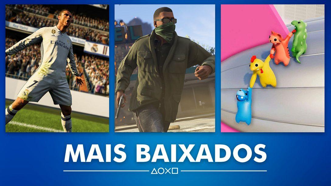 Os Jogos Mais baixados de Dezembro na PS Store