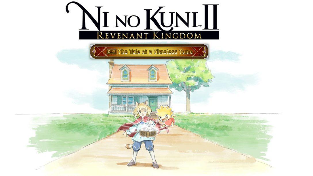 Ni No Kuni II Revela Novo DLC: The Tale of a Timeless Tome