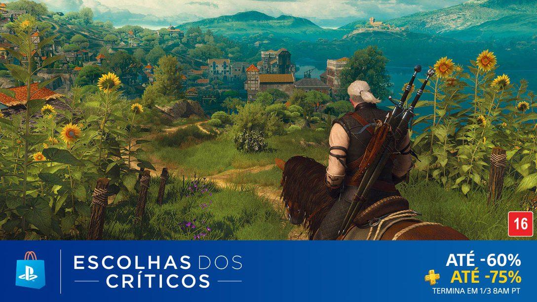 A Promoção Escolhas dos Críticos da PS Store Começou