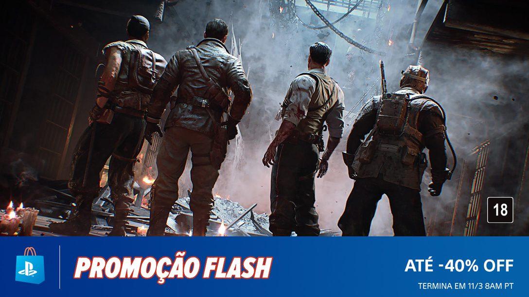 A Promoção Flash da PS Store já Começou com Descontos de Até 40%