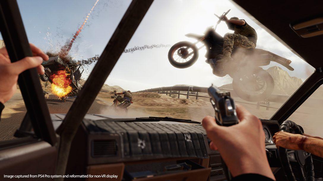 Blood & Truth Traz Momentos Dignos de Filmes de Ação à Vida No PS VR