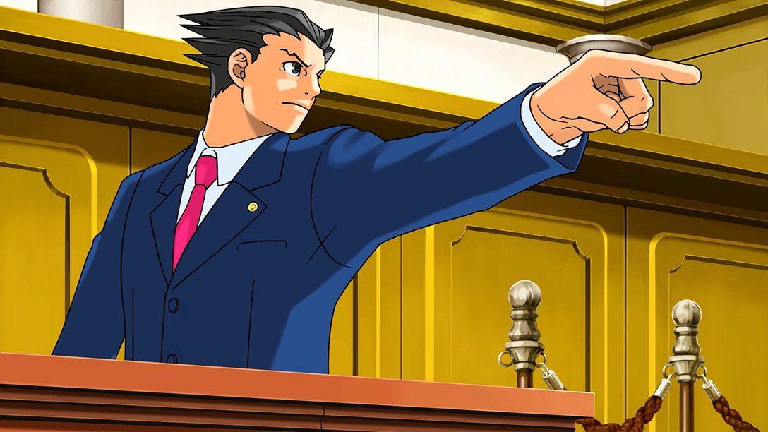 Phoenix Wright: Ace Attorney Trilogy Disponível Amanhã