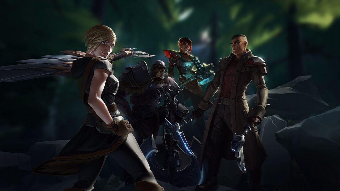 Dauntless, RPG de Ação Free-to-Play, Chega Amanhã ao PS4