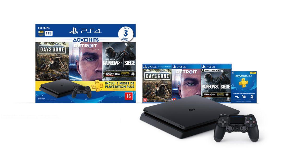 Novo Bundle PlayStation Hits Chegando ao Brasil