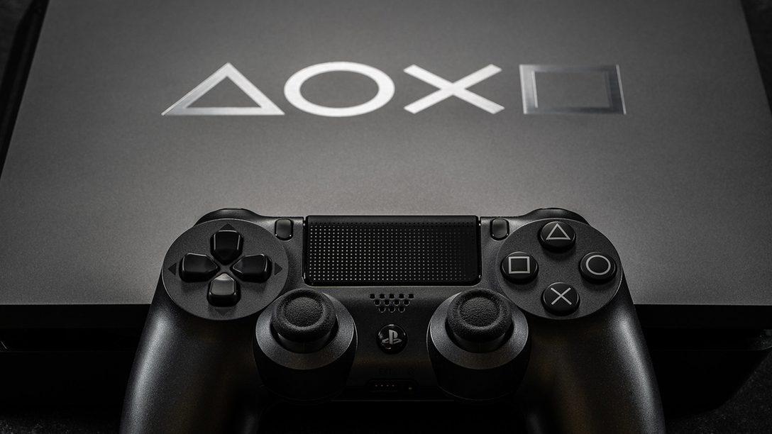 Galeria: Edição Limitada Console PS4 e DualShock 4 Days of Play 2019
