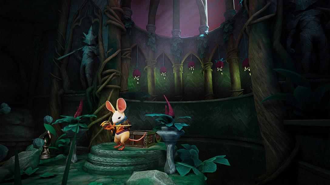 Moss Traz Nova Atualização Twilight Garden, Chegando Hoje ao PS VR