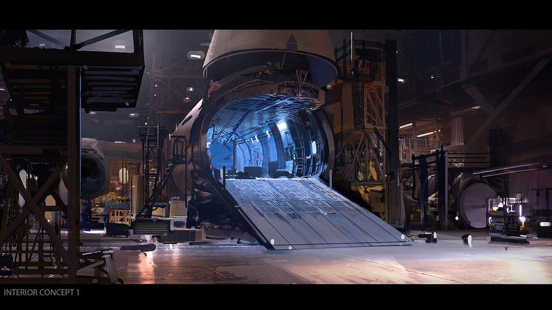 Firewall Zero Hour: Making of do Mapa Hangar
