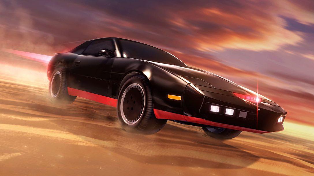K.I.T.T., de Knight Rider, Chega a Rocket League