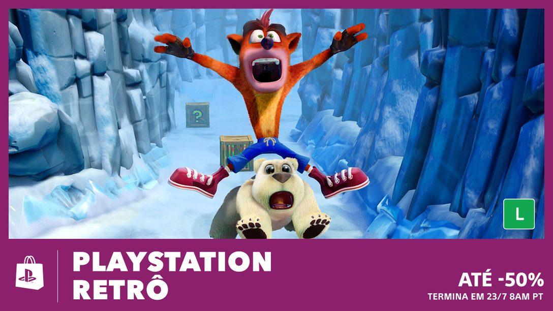 Começou a Promoção PlayStation Retrô na PS Store!