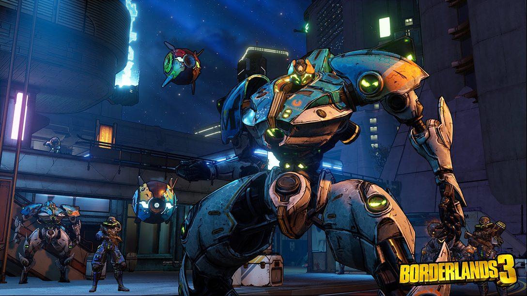 Bastidores: Como a Gearbox Construiu Borderlands 3 para PS4 e PS4 Pro