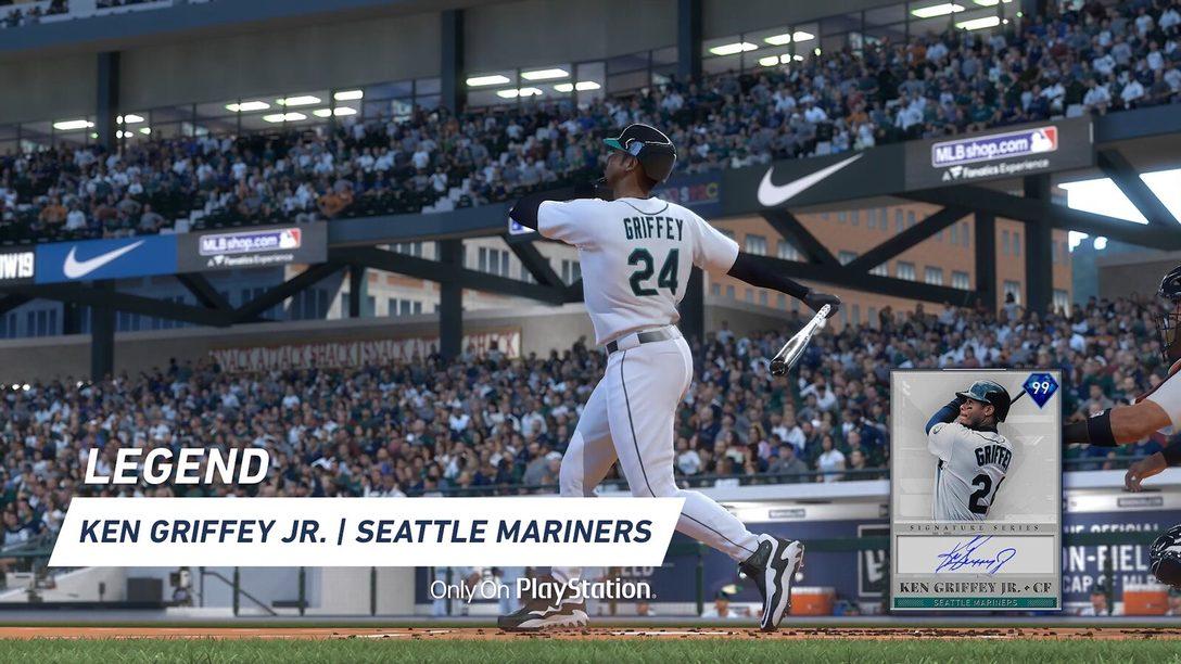 MLB The Show 19 Traz Três Novos Chefes Signature Series e Mais Conteúdo Durante a Semana Ken Griffey Jr.!