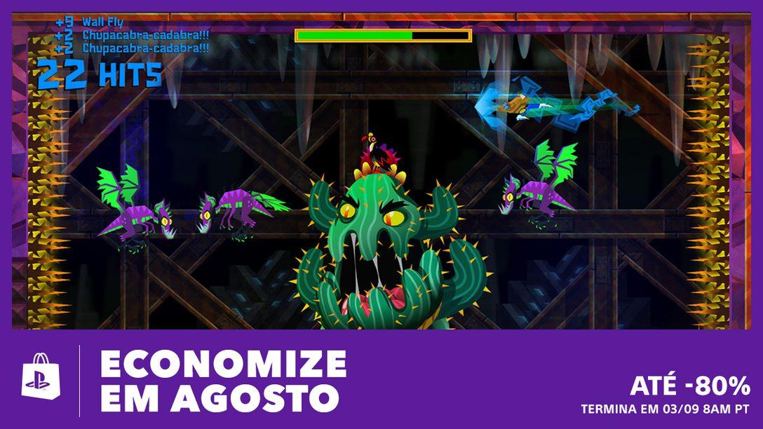 Economize em Agosto na PS Store, com Ofertas de até 80%
