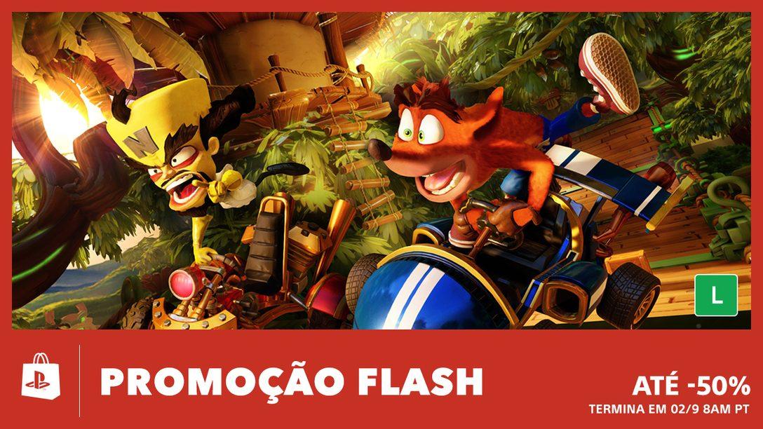Promoção Flash! Até 50% de Desconto Este Fim de Semana