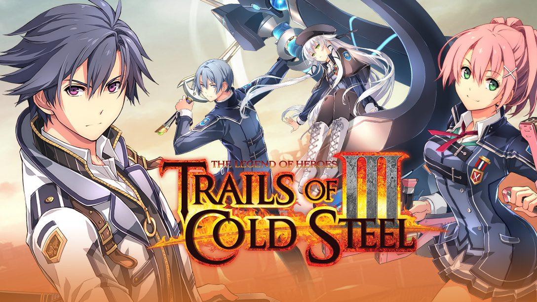 Demo de Legend of Heroes: Trails of Cold Steel III Disponível Já