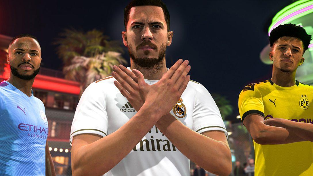 FIFA 20 Traz Volta Football, Disponível Já