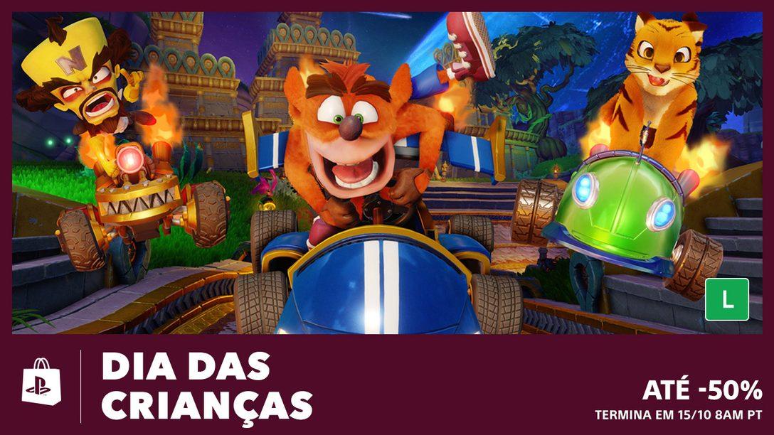 A Promoção do Dia das Crianças da PS Store Chegou