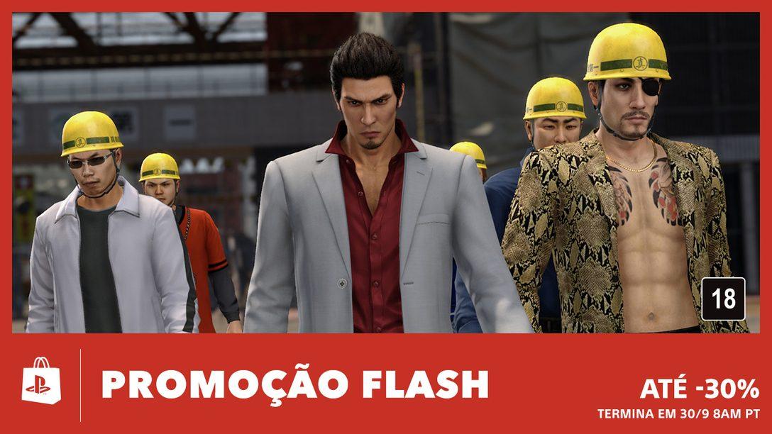 A Promoção Flash de Setembro Chega à PS Store
