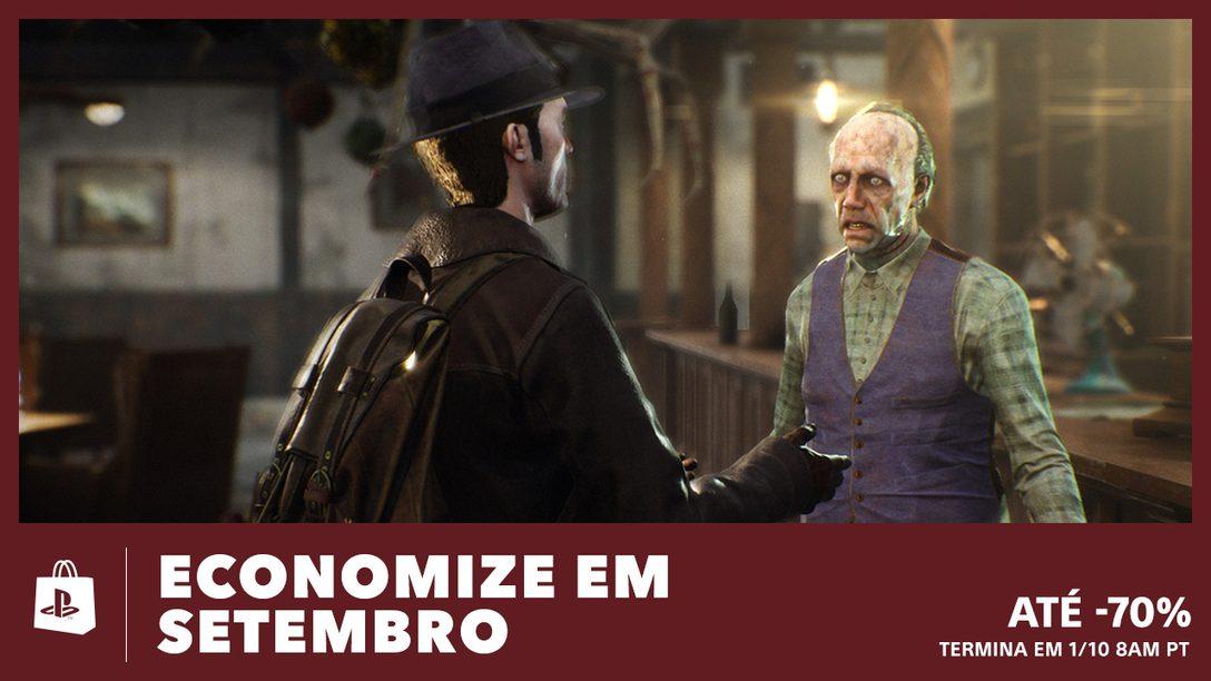 Até 70% de Desconto na Promoção Economize em Setembro da PS Store