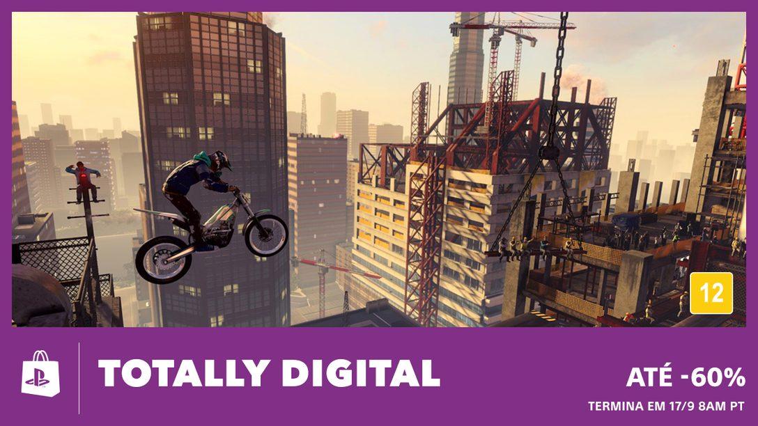 Economize até 60% com a Promoção Totally Digital da PS Store