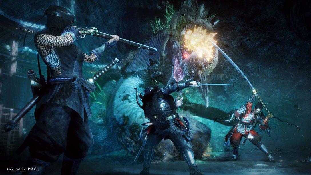 Nioh 2 Chega ao PS4 em Março de 2020, Beta Aberto Começa em 1 de Novembro