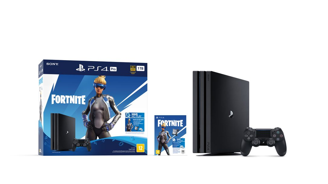 Conteúdo Exclusivo Fortnite no Bundle PlayStation 4 Pro Fortnite Neo Versa