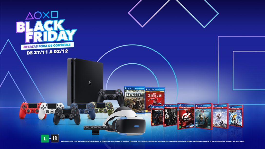 As Ofertas da Black Friday e Cyber Monday PlayStation de 2019 Reveladas