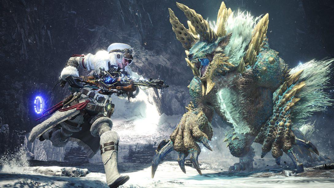 Uma Nevasca Traz Itens de Horizon Zero Dawn: The Frozen Wilds Até Monster Hunter World: Iceborne