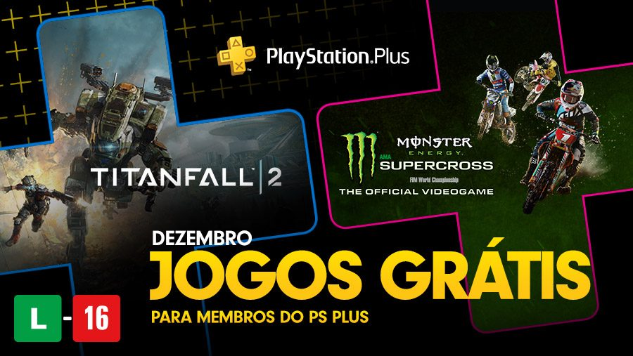 Jogos PS Plus de Dezembro: Titanfall 2 e Monster Energy Supercross – The Official Videogame