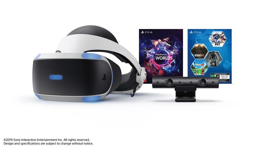 O PlayStation VR Mega Pack Chega a Tempo das Festas