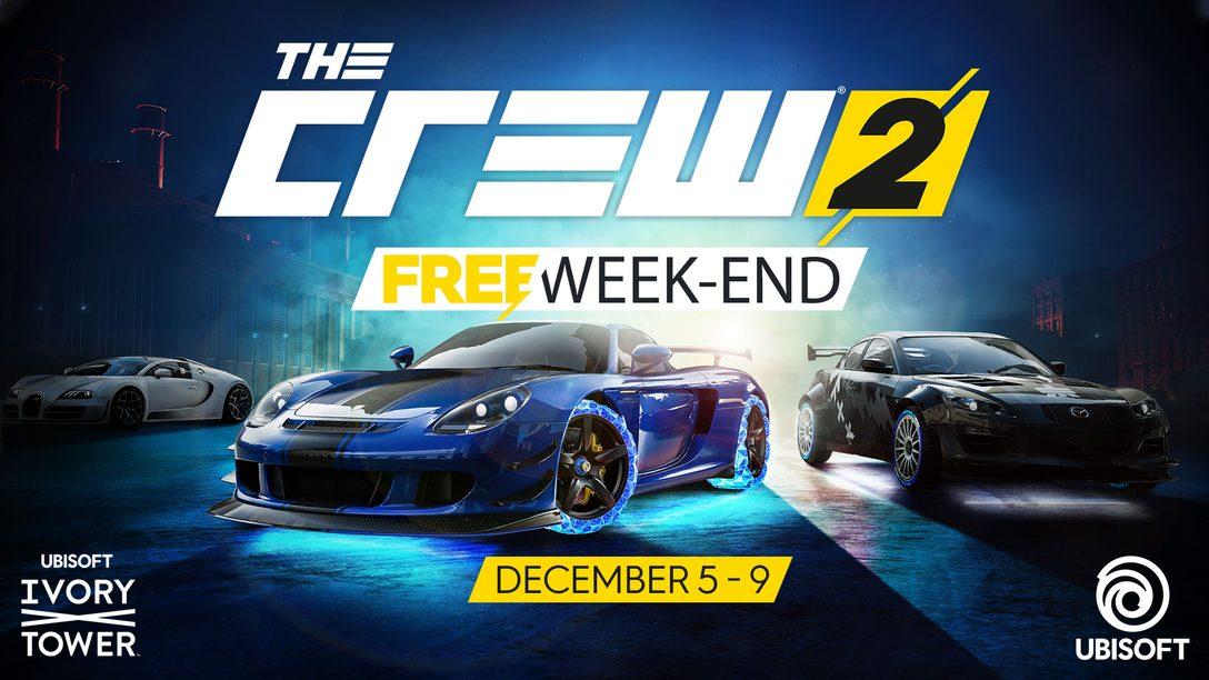 Jogue The Crew 2 e a Atualização The Blazing Shots Gratuitamente este Fim de Semana