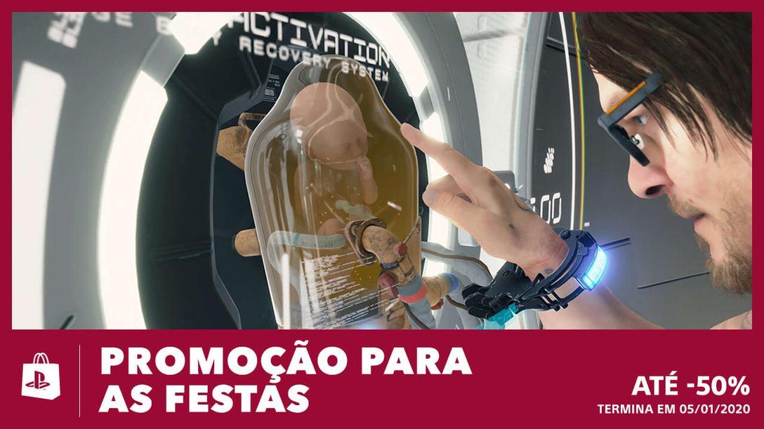 Entre no Clima Festivo da Promoção Para as Festas da PS Store
