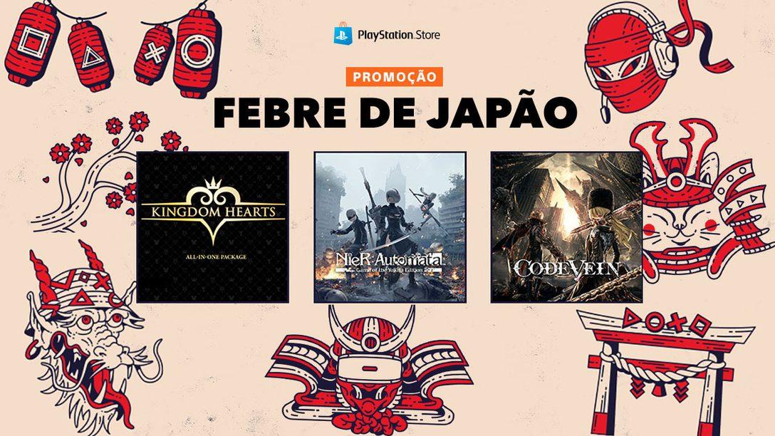 A Promoção Febre de Japão da PS Store Chega Amanhã!